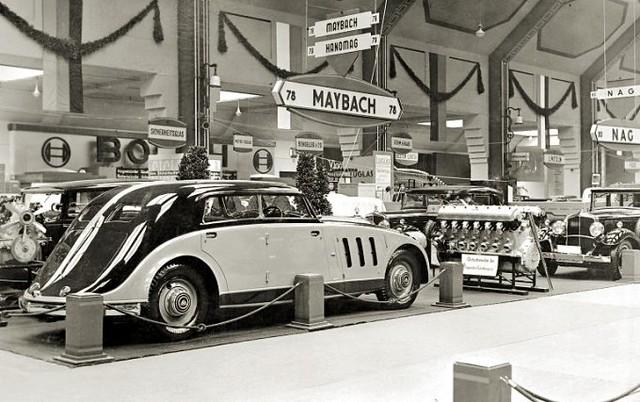 1932 Maybach Zeppelin Spohn Stromlinie