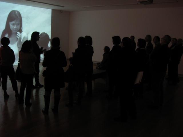 Ateneístas de Santiago. Exposición de Jeff Wall. CGAC. Santiago de Compostela.