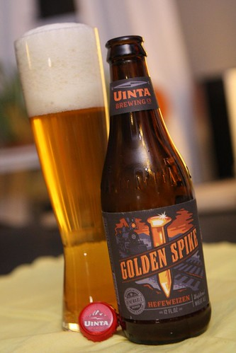 Unita Brewing Golden Spike Hefeweizen