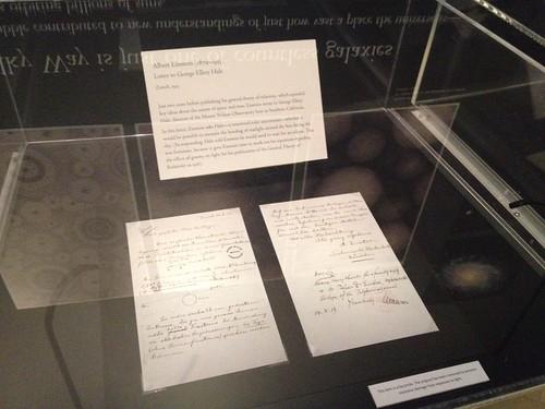 Letter from Albert Einstein to George Ellery Hale