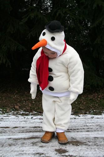 he ik ben een sneeuwman