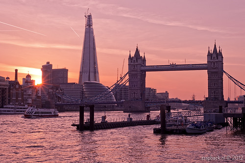 Last night in London / sunset / Tower Bridge / The Shard