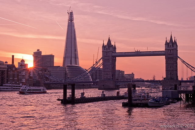 Last night in London / sunset / Tower Bridge / The Shard