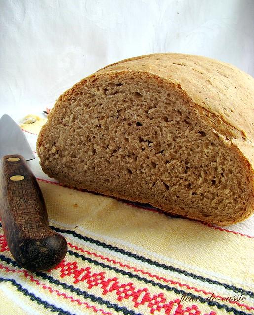 хлеб пшенично-ржаной на опаре 3