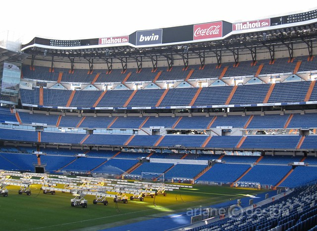 Estadio Santiago Bernabéu tour