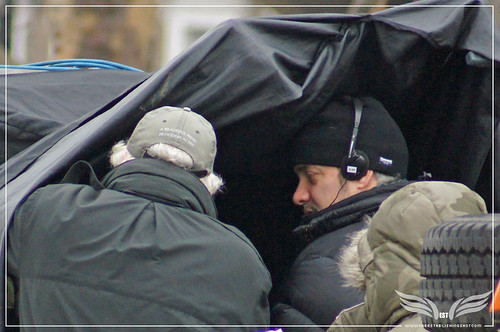 The Establishing Shot: Skyfall Vauxhall Bridge Location - Roger Deakins & Sam Mendes checking shots by Craig Grobler