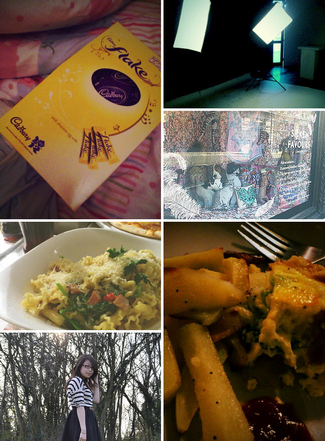 daisybutter - UK Style Blog: week in photos, easter egg, studio photoshoot, vapiano's, liberty of london, what i wore