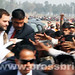 Rahul Gandhi's road show in Sultanpur, U.P (6)