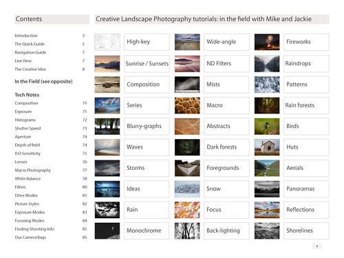 Creative Landscape Photography book sample page 1
