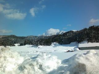 雪の船通山