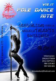 Vie.17.Feb - Pole Dance Nite - Dashur Disco Club