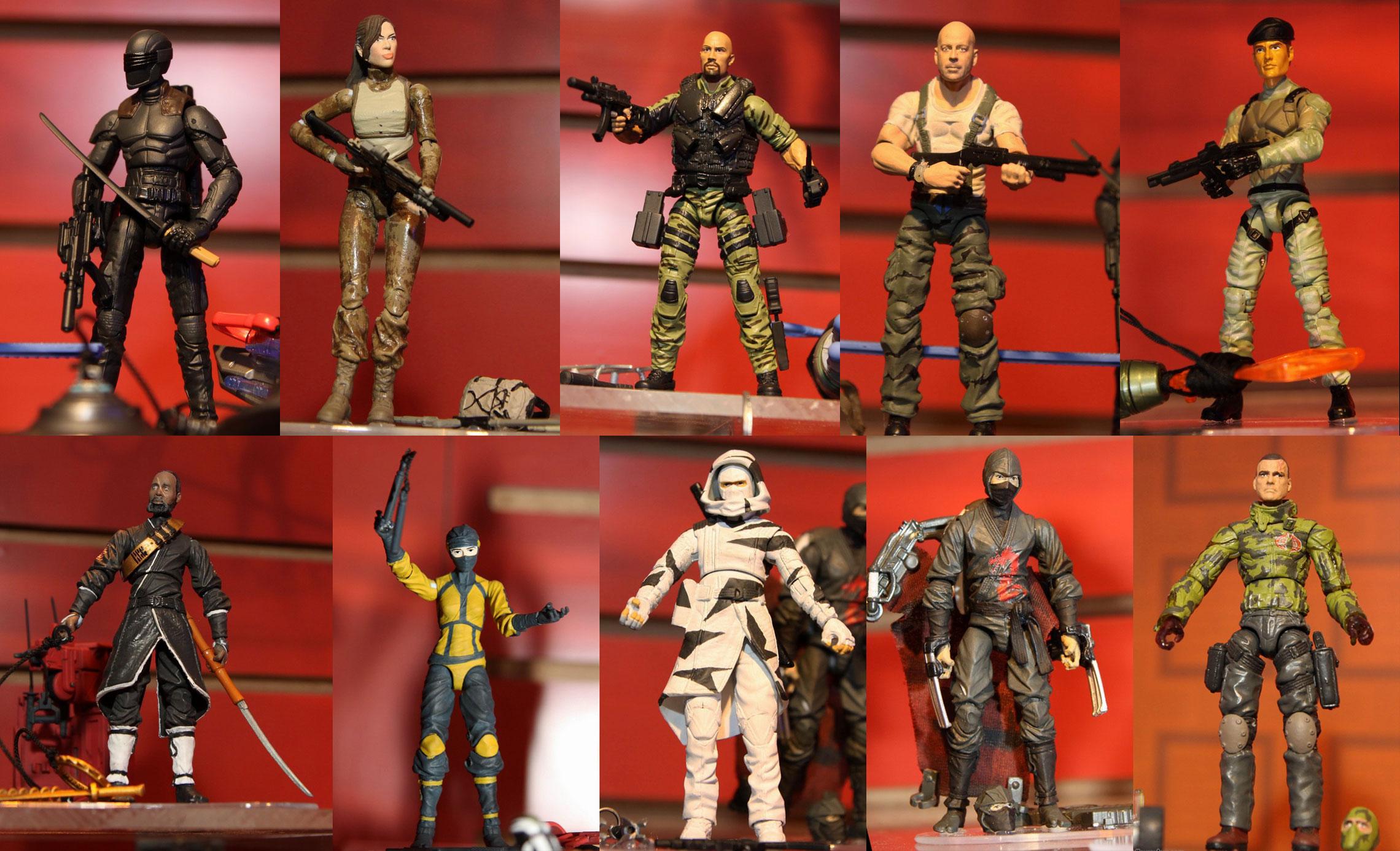 GI Joe Retaliation Toys