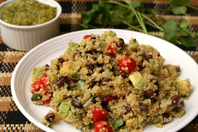 black bean quinoa 5