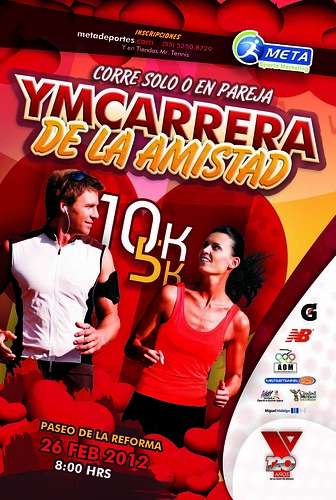Carrera de la Amistad YMCA 2012