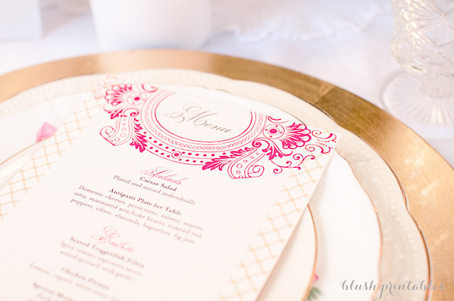 Vintage Garden - Wedding Invitation Set