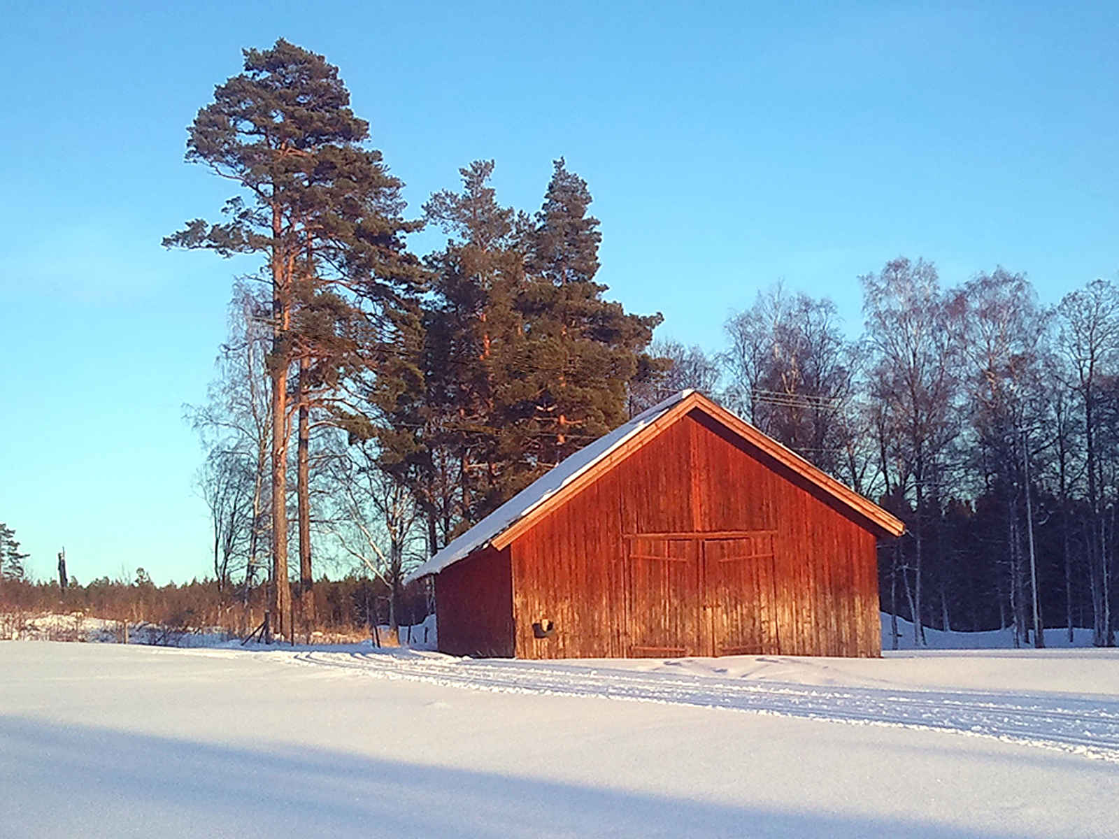 Old Winter Red Wallpaper Sky House Snow Building Tree Nature Skyline Barn Rural Landscape Photography Landscapes