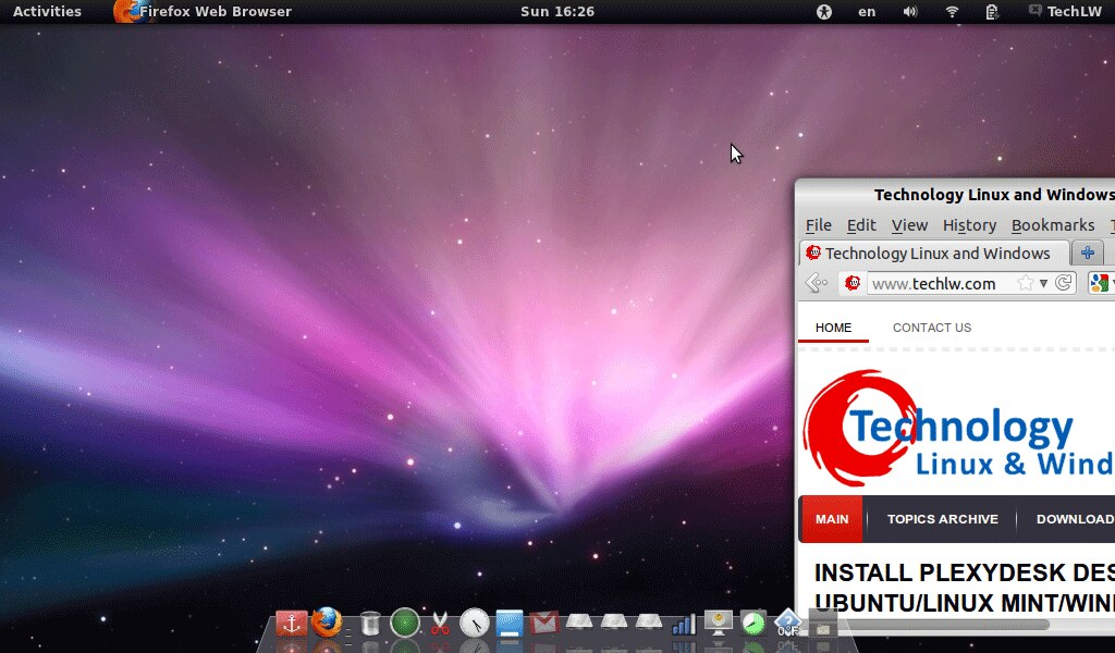 Install Mac OS X theme on Ubuntu 12 04/11 10 for Unity/Gnome