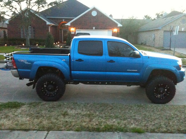 Toyota Tacoma with XD Wheels
