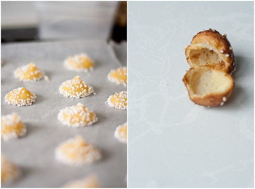 chouquettes collage