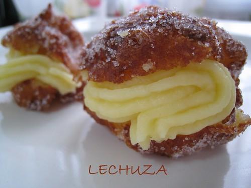 Buñuelos con crema pastelera (5)