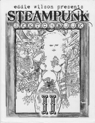 STEAMPUNK Sketchbook II cover by broken toys