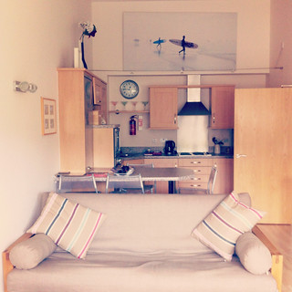 Our home for a week in Watergate Bay, Cornwall