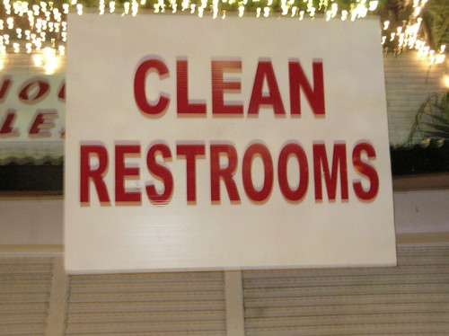 Clean Restrooms