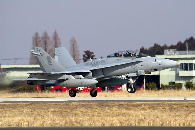U.S.MARINE F/A-18D