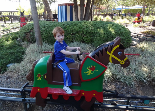 Henry on a Jousting Horse