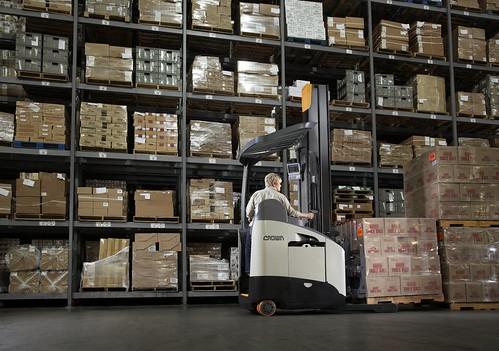 Reach Trucks Case Study Crown Material Handling News