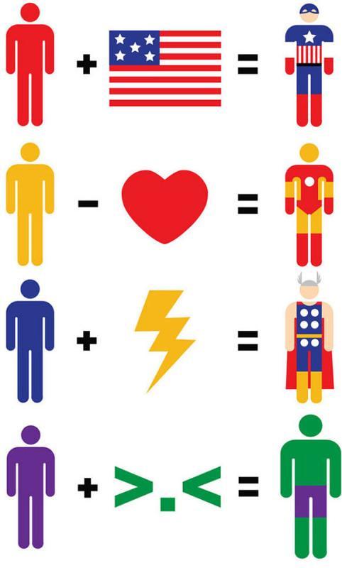 Matemática dos heróis e vilões