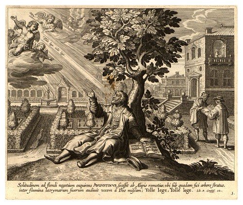 002-Iconographia magni patris Aurelli Augustini…1624-Grabados de Boetius Bolswert- Cortesia de Villanova University