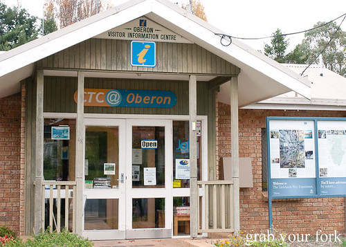 oberon visitor information centre