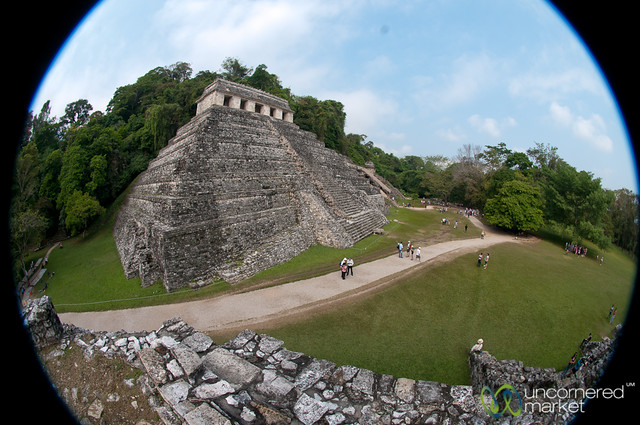 Temple of the Inscriptions - Palenque Ruins, Mexico
