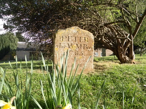 Peter the Wild Boy's grave, Northchurch