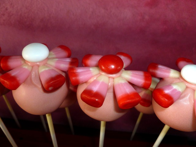 Cake Pop Flowers Bakerella