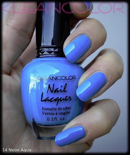 neon aqua
