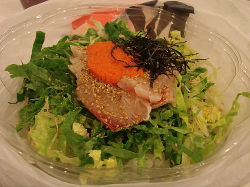 Sashimi bibimbap bowl