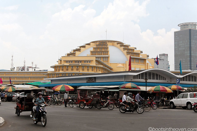 Phnom Penh's Art Deco Central Market