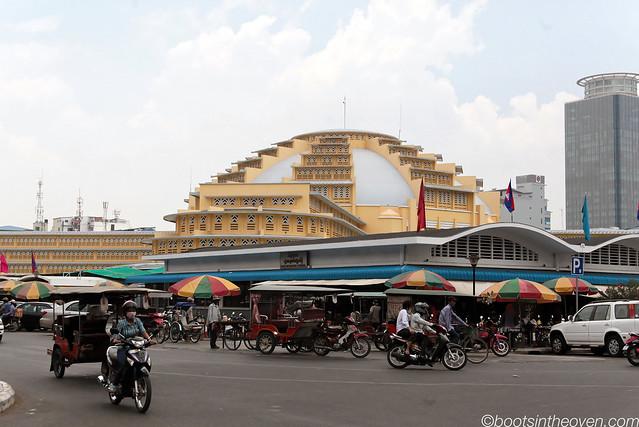 Phnom Penh's Art Deco Central Market