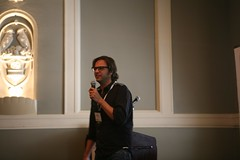 dennis presenting searchfest