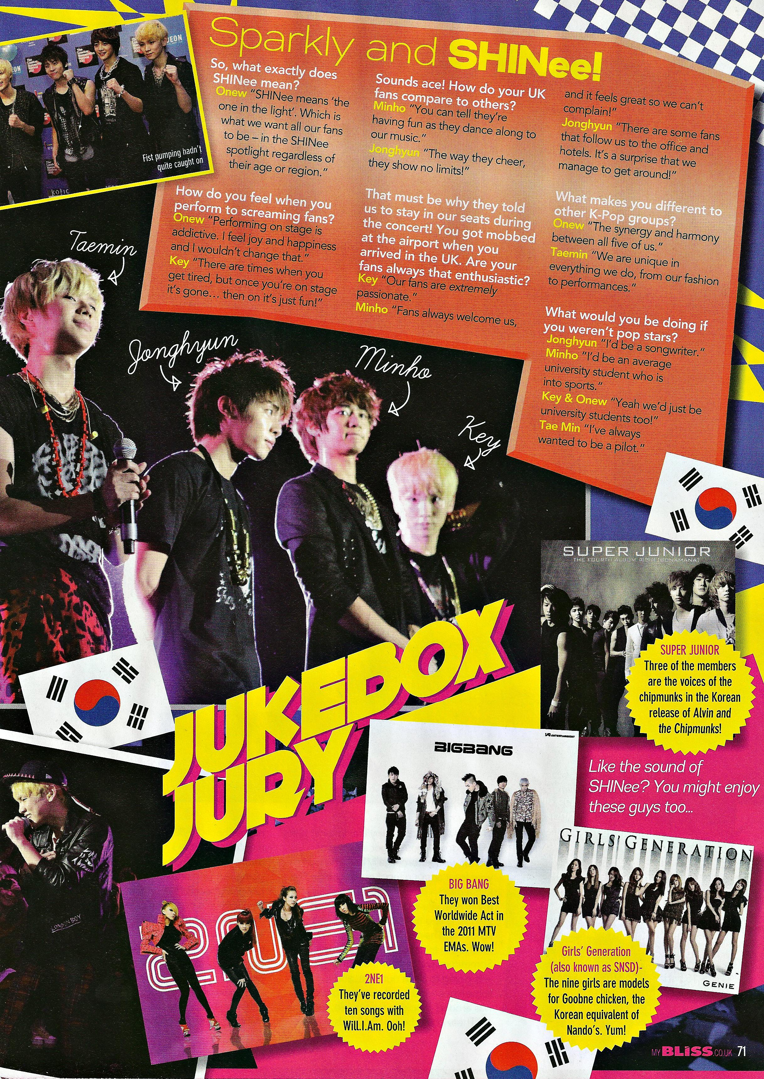 040312 SHINee - Bliss Magazine Scans, April 2012 Edition 6952783721_ec28d419a5_o