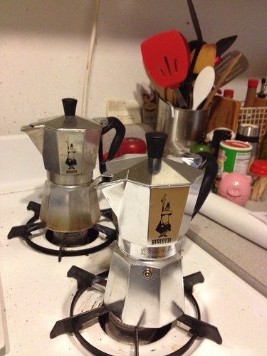 A tale of 2 coffee pots