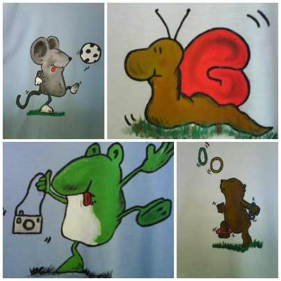 samarretes pintades a mà alçada by beasabine
