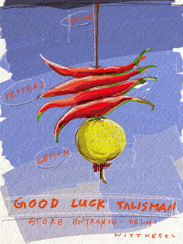 good luck talisman Delhi India by douglaswittnebel