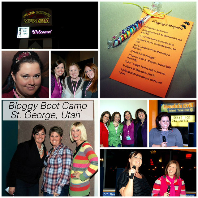 Bloggy Boot Camp St. George, Utah