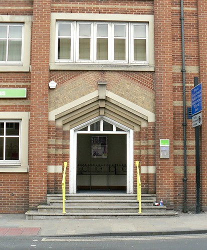 Job Centre Doorway, Oxford, Oxfordshire