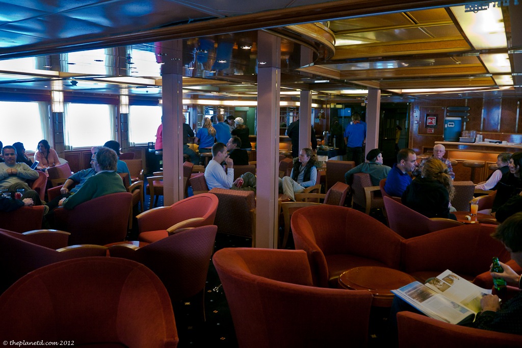 The Open Bar on the Sea Spirit