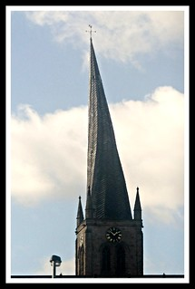 Chesterfield,crooked spire.