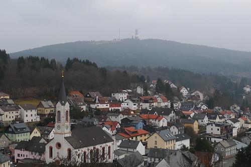 Blick auf Oberreifenberg. März 2012